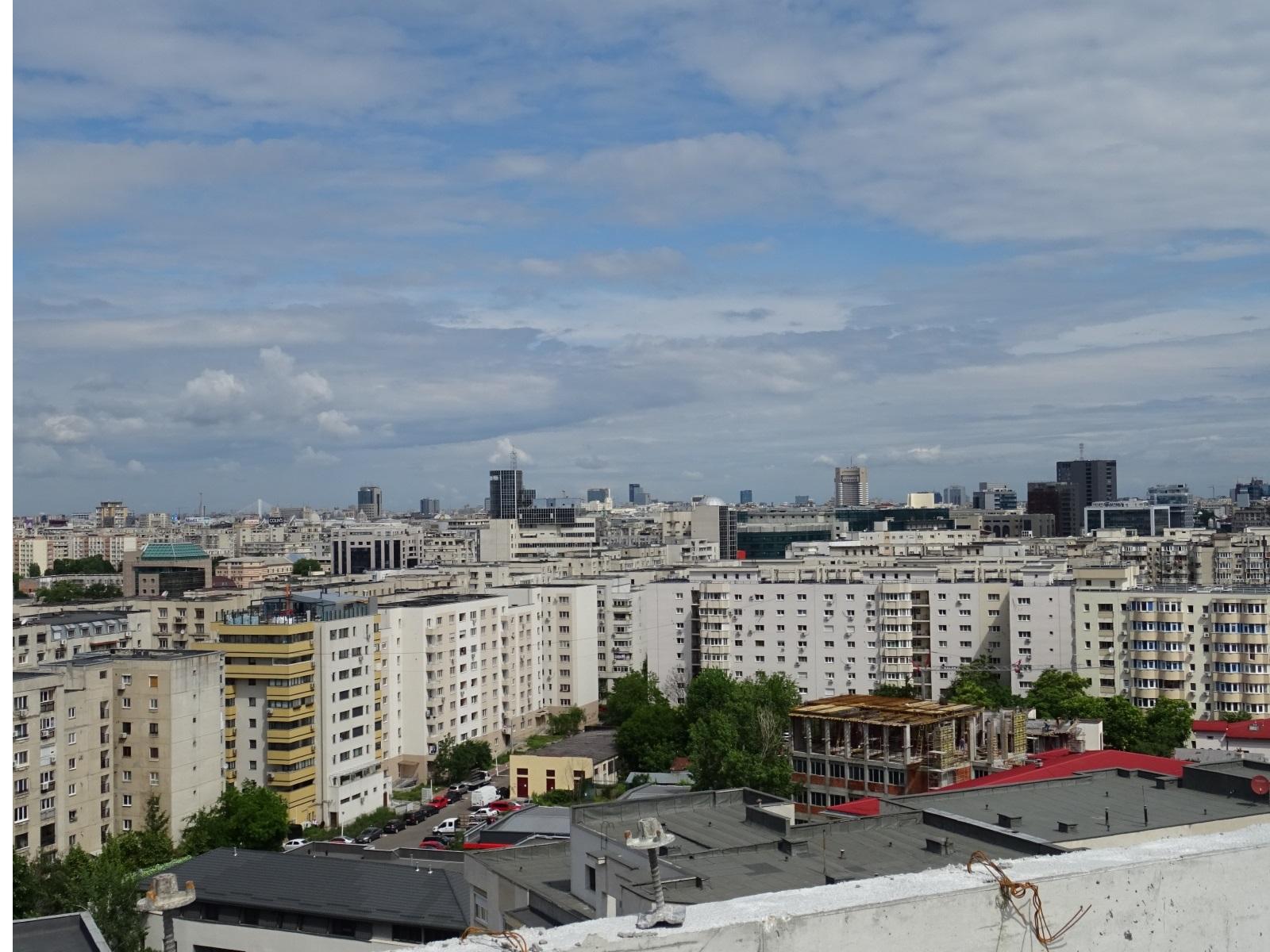 Panorama vedere fata Nord-Vest